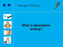 Home descriptive writing